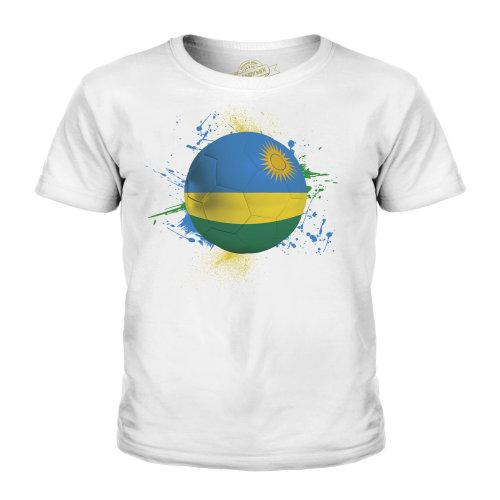 Candymix - Rwanda Football - Unisex Kid's T-Shirt