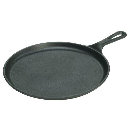 EDDINGTONS 17L9OG3 Round 27 cm Pancake Griddle - Black, Black