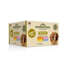 Harringtons Wet Dog Food 400g Bumper Pack [Dcse 16] - 261193