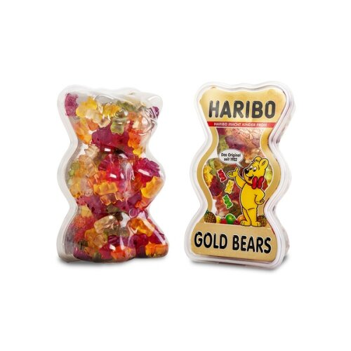 2 x Haribo Goldbears 450g Tub Bear Shaped Tub