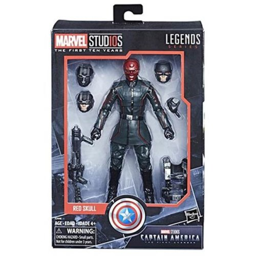 Hasbro HSBE2446 Marvel Cinematic Universe 10th Anniversary CA1 Figures - Pack of 6