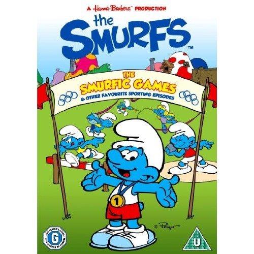 The Smurfs - The Smurfic Games DVD [2012]