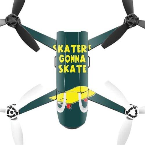 MightySkins PABEBOP2-Skaters Gonna Skate Skin Decal Wrap for Parrot Bebop Quadcopter Drone - 2 Skaters Gonna Skate