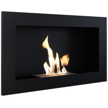 Biofireplace GOLF 2 black with TÜV certified