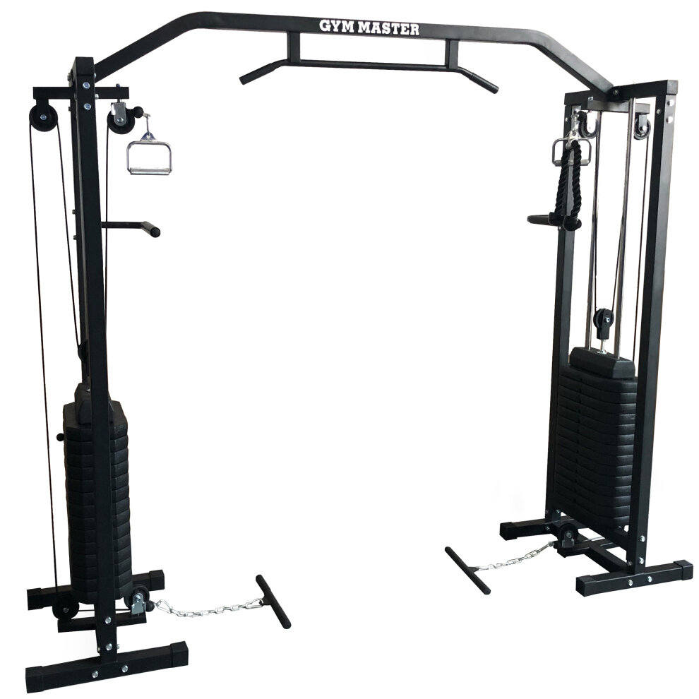 Gym Master 180kg Cable Crossover Machine | Cable Pulley Machine