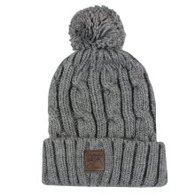 Superdry Zinc Marl Trawler Cable Beanie