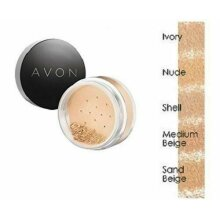 Avon Smooth Minerals Calming Effects Loose Powder Foundation - IVORY - FREE P&P