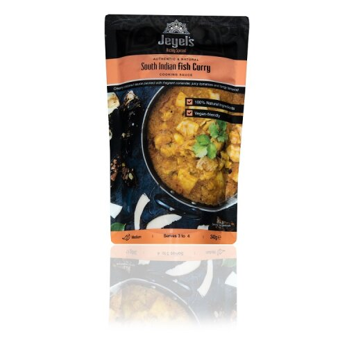 South Indian Fish Curry Cooking Sauce Medium Spiced Pack of 5