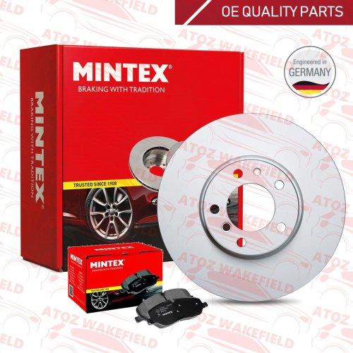 NEW MINTEX REAR BRAKE DISC AND PADS SET FOR AUDI SEAT SKODA VW MDK0037