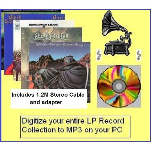 1.2M LP to PC Kit Copy Vinyl records to CD