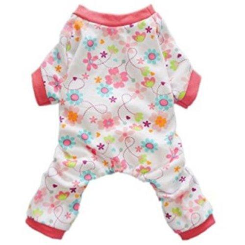 D.O.G. DGPAJ-L-S Leopard Soft Pajama, Small