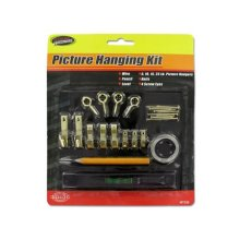 Kole Imports MT329-50 Picture Hanging Kit with Level, Pack of 50