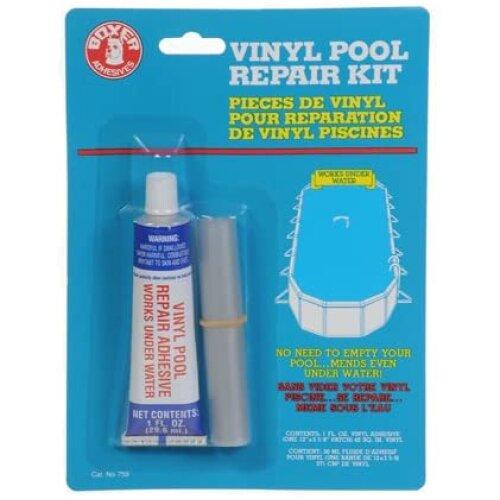 Inflatable Spa & Hot Tub Repair Kit Vinyl Pool Underwater Glue 1oz