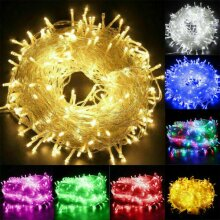 LED Mains Fairy String Lights Christmas Tree Party Outdoor Garden Lights