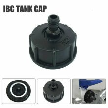 """IBC Adapter Connector Water Tank Valve To 1/2"""" Garden Small Nipple Hose Fitting"""