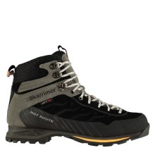 Karrimor Mens Hot Route Mid Walking Boots Lace Up Breathable Waterproof Leather