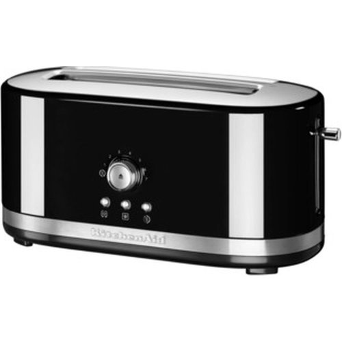KITCHENAID 5KMT4116BOB 2-Slice Toaster - Onyx Black, Black