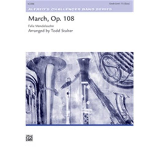 Alfred 00-36678 MARCH OP.108-MENDELSSOHN-CH