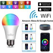 ELECWISH Smart Wi-Fi Bulbs Light&Color Adjustable