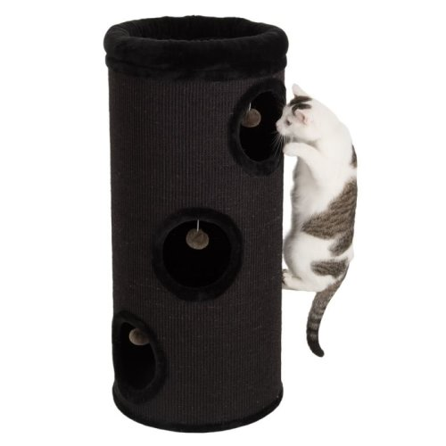 XL Cat Scratching Barrel Sisal Hideaway Den Bed