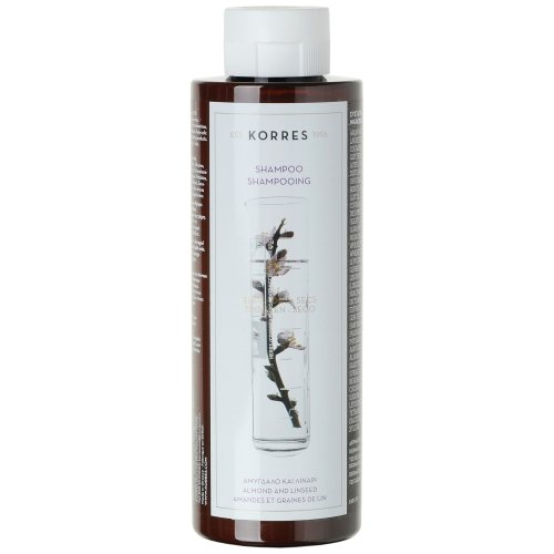 KORRES Shampoo Almond and Linseed for Dry/Damaged Hair 250 ml