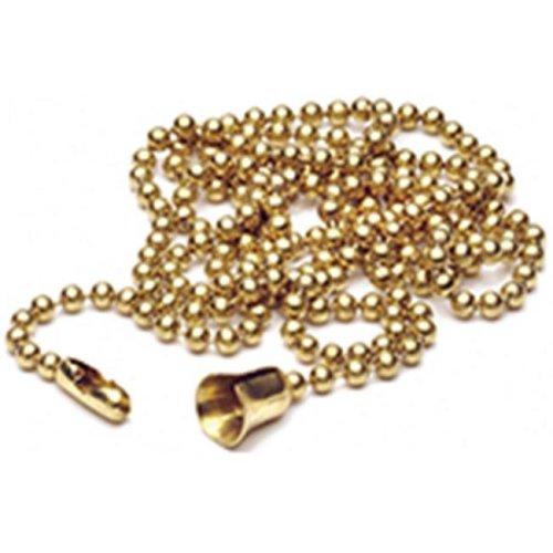 Leviton Mfg Chain Bead No6 3Ft Brass Bg 001-00006-00B