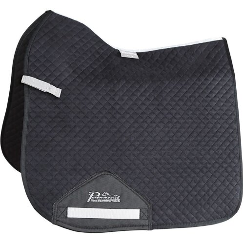 (17in - 18in, Black) Performance Dressage Horse Saddlecloth