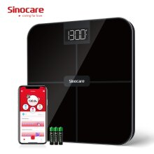 Sinocare Body Weight Scale - High Precision Sensors - Health Analyzer with Smart App