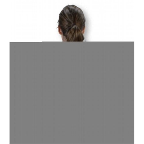 6 Back-Rite Support, Black - Medium
