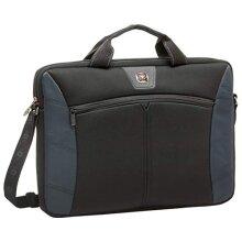 SwissGear 17.3-Inch Sherpa Slim Case for Notebook Black/Blue (GA-7501-06F00)