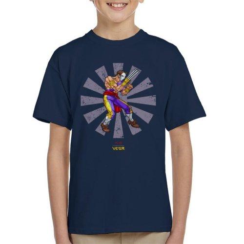 Vega Retro Japanese Street Fighter Kid's T-Shirt