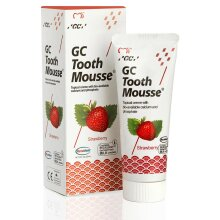 GC Tooth Mousse Tooth Care Toothpaste/Protects Dentin/Strawberry