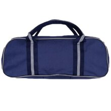BOWL SPORTS ACCESSORIES BALL STORAGE CARRIER HOLDALL NYLON 3 BOWL BAG NAVY ( ***New)