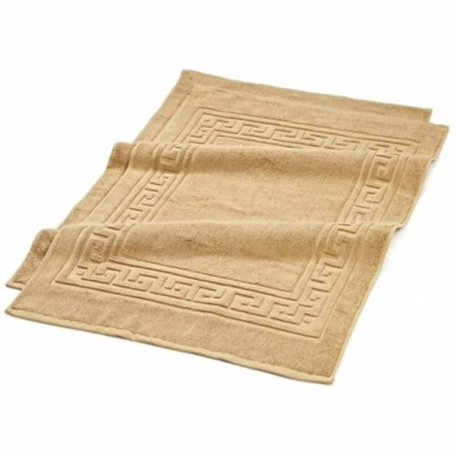 900GSM 2-Piece Bath Mat Set  Toast