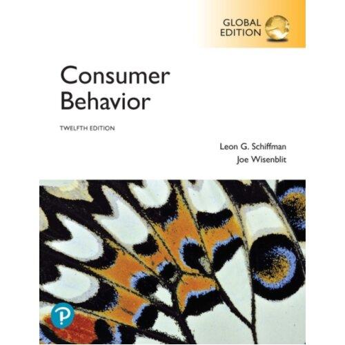 Consumer Behavior Global Edition by Schiffman & Leon G.Wisenblit & Joseph L. - Used