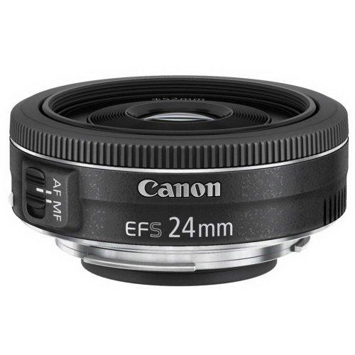 Canon EF-S 24mm f/2.8 STM Wide lens Black