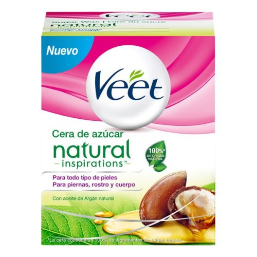 Veet Natural Inspirations Warm Hair Removing Wax Jar 250 ml