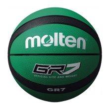 Molten GR7 Indoor Outdoor Rubber Basketball Ball Green