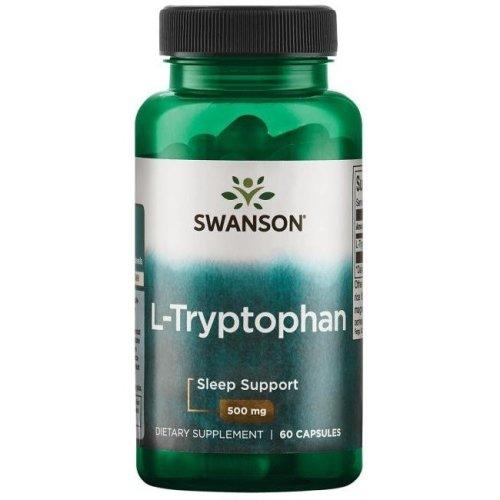 Swanson  L-Tryptophan, 500mg - 60 caps
