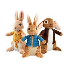 Peter Rabbit, Benjamin Bunny and Mopsy Plush Toy Set