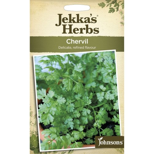 Johnsons - Jekka's Herbs - Pictorial Pack - Chervil - 1250 Seeds