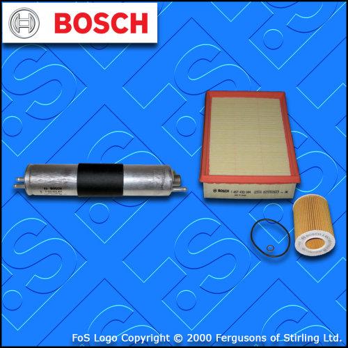 Peugeot Partner 2.0 HDi Diesel Service Kit Oil Fuel Filter 02-On BOSCH Air