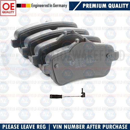 FOR MERCEDES GLE63 ML63 GL63 AMG REAR GERMANY BRAKE PADS WEAR WIRE SENSOR