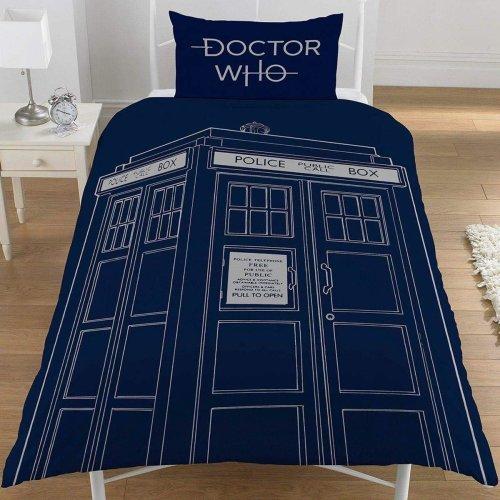 Doctor Who Classic Single Duvet Set