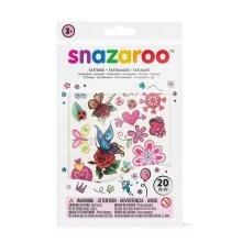 Snazaroo Fantasy Temporary Tattoos - Set of 20