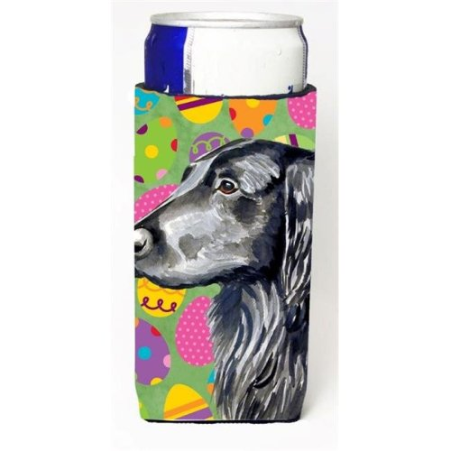 Flat Coated Retriever Easter Eggtravaganza Michelob Ultra s For Slim Cans - 12 oz.