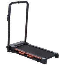 HOMCOM 1-6 km/h Folding Motorized Treadmill Walking w/ Remote Stopper Fitness