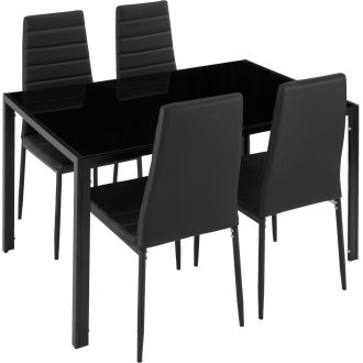 Dining table and chair Set Berlin 4+1 -