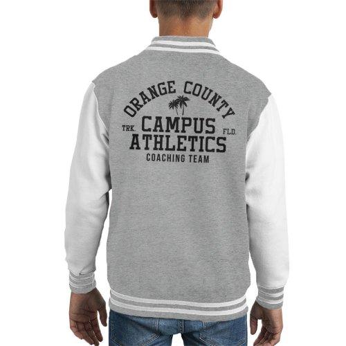 (Large (9-11 yrs)) Orange County Campus Athletics Kid's Varsity Jacket