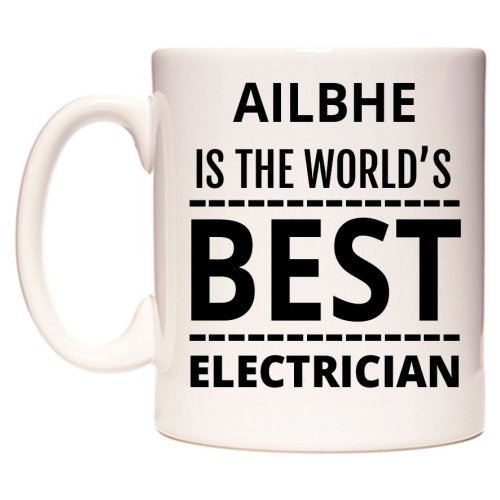 AILBHE Is The World's BEST Electrician Mug
